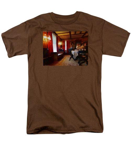 Summer House Men's T-Shirt  (Regular Fit) by Mikki Cucuzzo