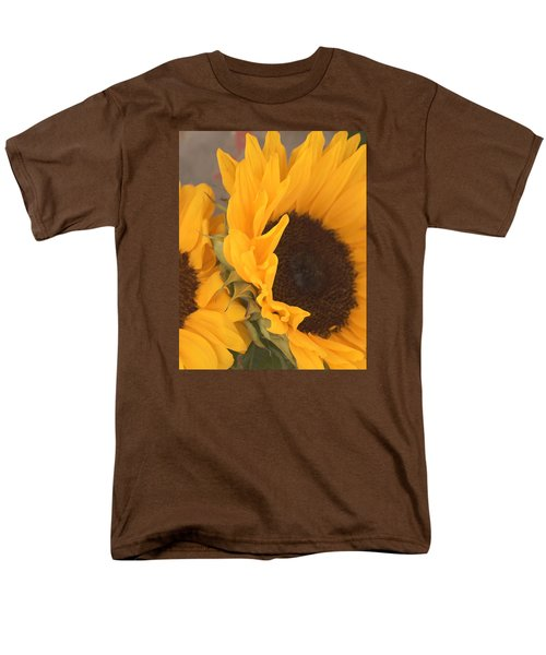 Men's T-Shirt  (Regular Fit) featuring the digital art Sun Flower by Jana Russon