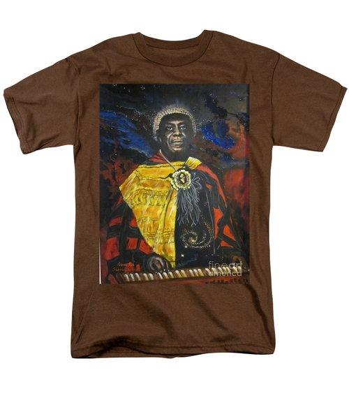 Sun-ra - Jazz Artist Men's T-Shirt  (Regular Fit) by Sigrid Tune
