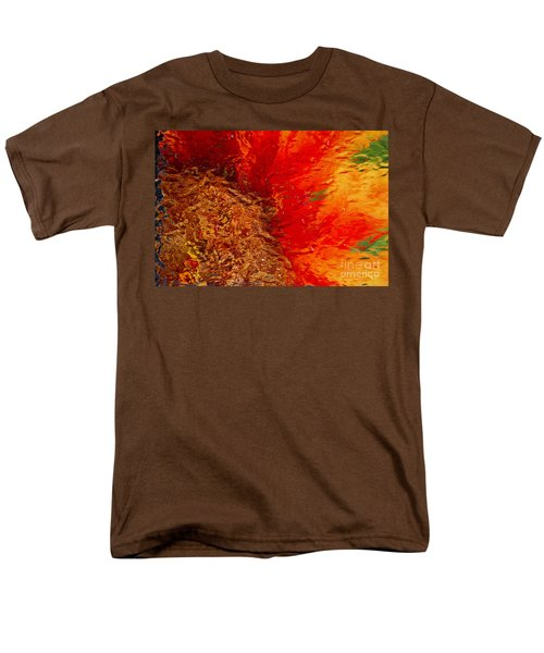 Men's T-Shirt  (Regular Fit) featuring the photograph Sunflower Impressions by Jeanette French