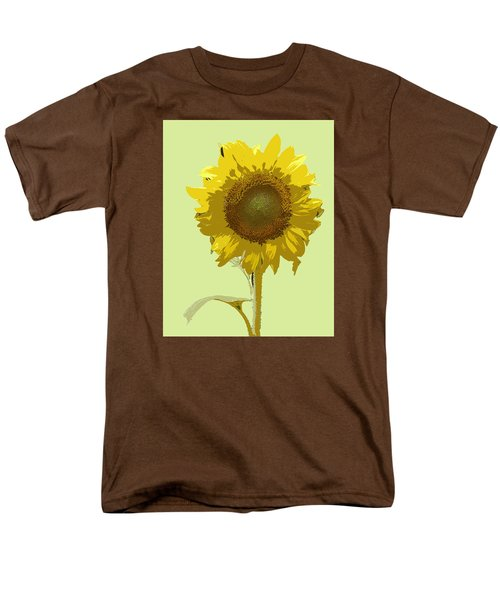 Sunflower Men's T-Shirt  (Regular Fit) by Karen Nicholson