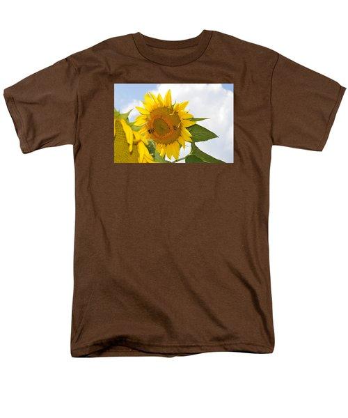 Sunflower Men's T-Shirt  (Regular Fit) by Linda Geiger