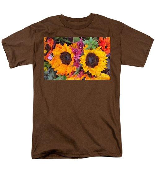 Sunflowers Eyes Men's T-Shirt  (Regular Fit)