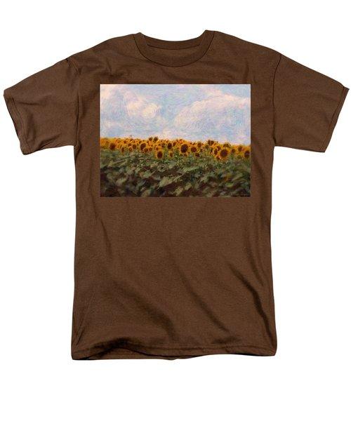 Sunflowers Men's T-Shirt  (Regular Fit) by Robin Regan