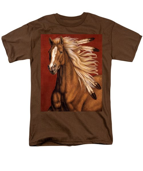 Sunhorse Men's T-Shirt  (Regular Fit) by Pat Erickson
