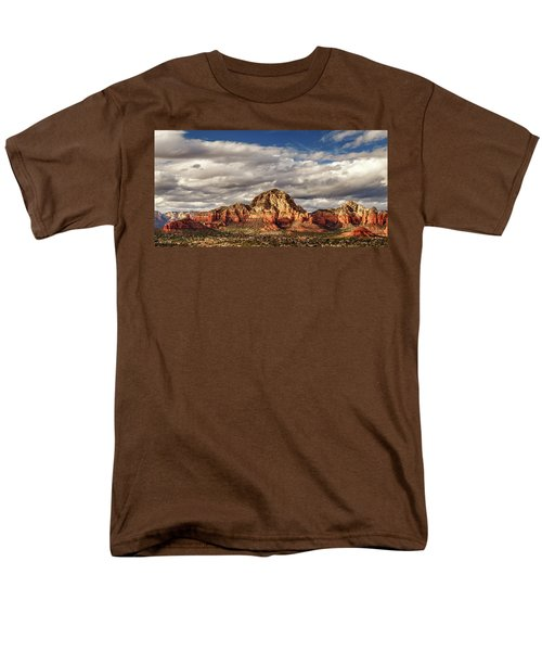 Men's T-Shirt  (Regular Fit) featuring the photograph Sunlight On Sedona by James Eddy