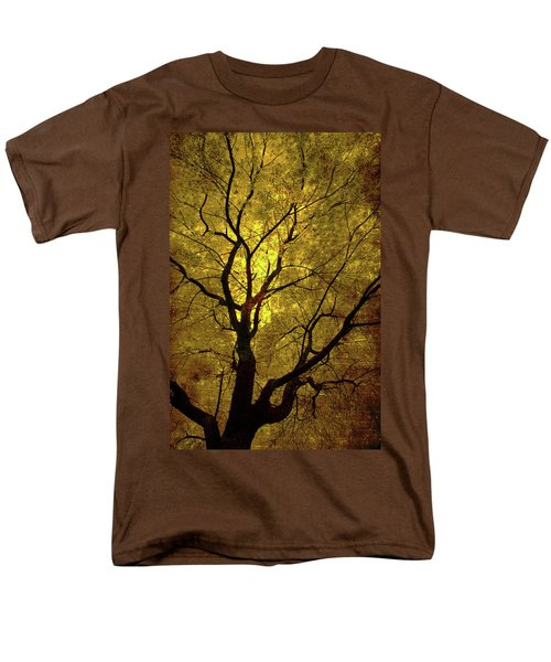 Sunny Branches Men's T-Shirt  (Regular Fit) by Gray  Artus