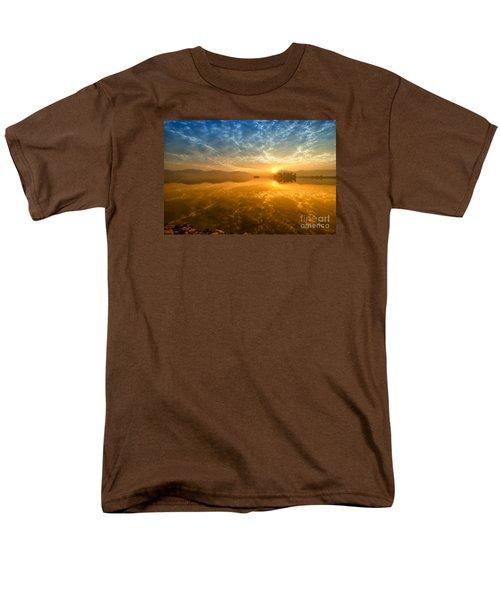 Sunrise At Jal Mahal Men's T-Shirt  (Regular Fit) by Yew Kwang