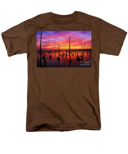 Sunrise Awaits Men's T-Shirt  (Regular Fit) by Roger Becker