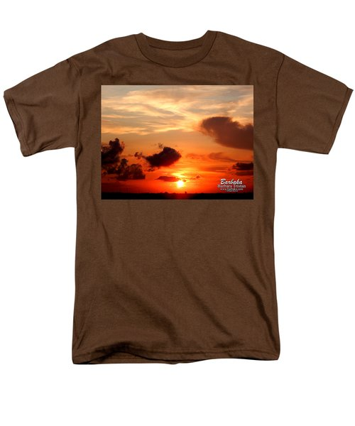 Sunrise In Ammannsville Texas Men's T-Shirt  (Regular Fit) by Barbara Tristan