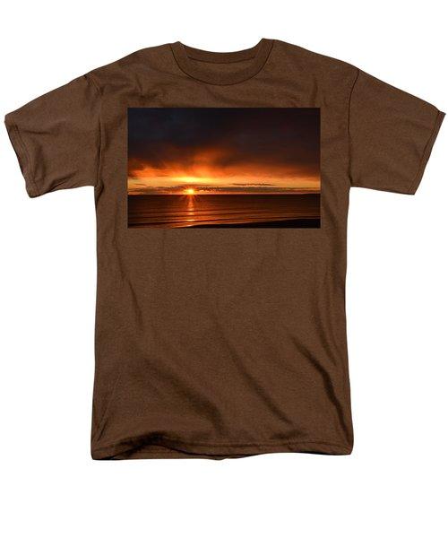 Sunrise Rays Men's T-Shirt  (Regular Fit) by Nancy Landry