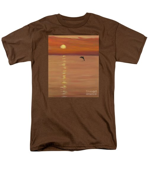 Sunrise Surprise Men's T-Shirt  (Regular Fit) by Anne Marie Brown