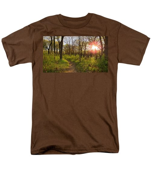Men's T-Shirt  (Regular Fit) featuring the photograph Sunset At Scuppernong by Kimberly Mackowski