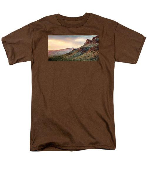 Men's T-Shirt  (Regular Fit) featuring the photograph Sunset by Elaine Malott