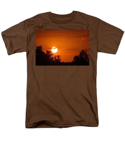 Men's T-Shirt  (Regular Fit) featuring the photograph Sunset In Charleston by Donna Bentley