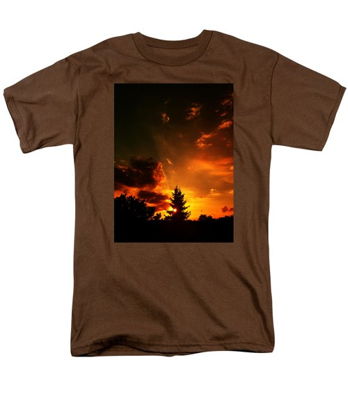 Sunset Madness Men's T-Shirt  (Regular Fit) by Flavien Gillet