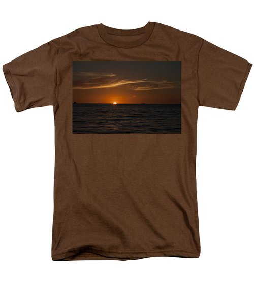 Sunset On Sea Of Cortez Men's T-Shirt  (Regular Fit) by Ivete Basso Photography