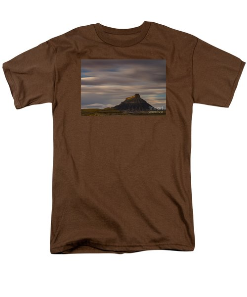 Men's T-Shirt  (Regular Fit) featuring the photograph Sunset Over Factory Butte by Keith Kapple