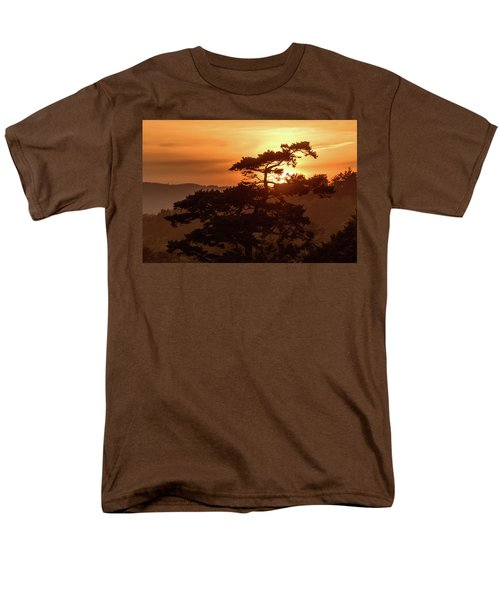 Sunset Silhouette Men's T-Shirt  (Regular Fit) by Keith Boone