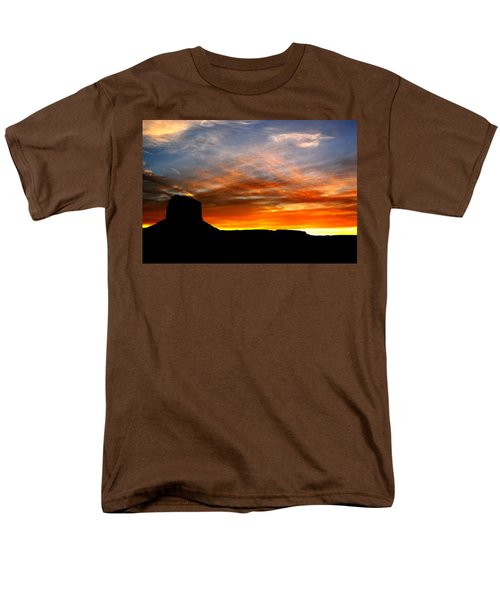 Men's T-Shirt  (Regular Fit) featuring the photograph Sunset Sky by Harry Spitz