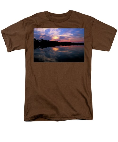 Men's T-Shirt  (Regular Fit) featuring the photograph Sunset Swirl by Steve Stuller
