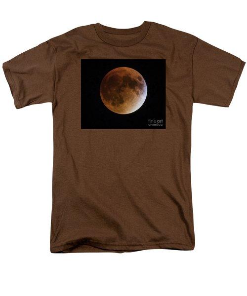 Men's T-Shirt  (Regular Fit) featuring the photograph Super Blood Moon Lunar Eclipses by Ricky L Jones