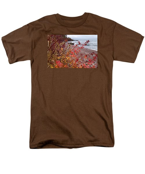 Superior November Color Men's T-Shirt  (Regular Fit) by Sandra Updyke