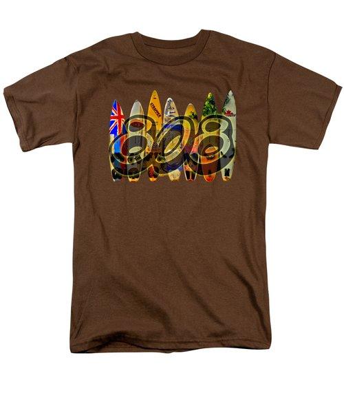 Surfin' 808 Men's T-Shirt  (Regular Fit)