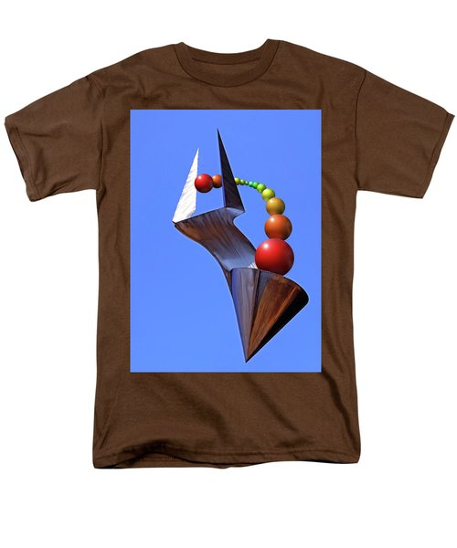 Men's T-Shirt  (Regular Fit) featuring the photograph Surreal Rainbow by Christopher McKenzie