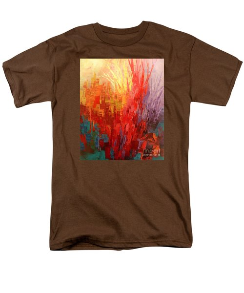 Men's T-Shirt  (Regular Fit) featuring the painting Swagger Of A Troubador by Tatiana Iliina