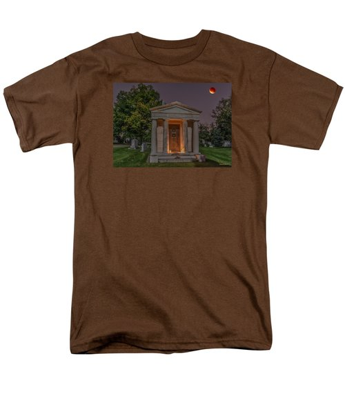 Swallow Mausoleum Under The Blood Moon Men's T-Shirt  (Regular Fit) by Stephen  Johnson