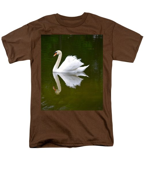 Swan Reflecting Men's T-Shirt  (Regular Fit) by Richard Bryce and Family