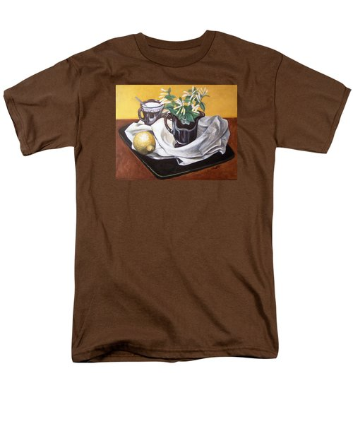 Men's T-Shirt  (Regular Fit) featuring the painting Sweet And Sour by Laura Aceto