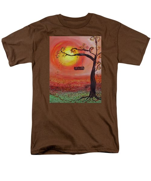 Swing Into Autumn Men's T-Shirt  (Regular Fit) by Barbara McDevitt