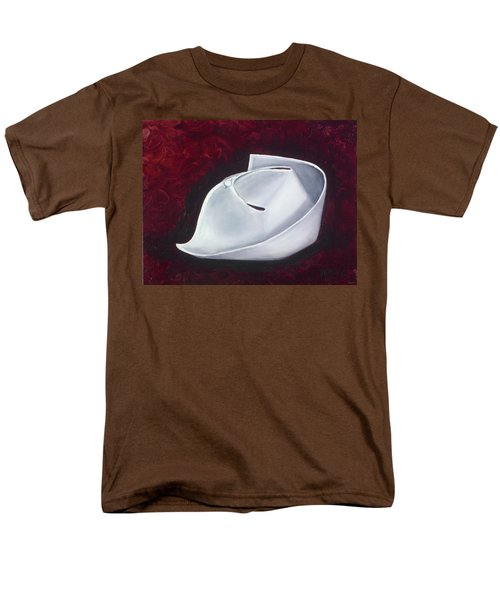 Men's T-Shirt  (Regular Fit) featuring the painting Symbol Of A Proud Profession  by Marlyn Boyd