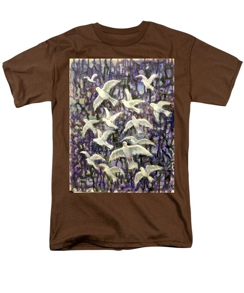 Symbol  Of Peace Men's T-Shirt  (Regular Fit) by Laila Awad Jamaleldin
