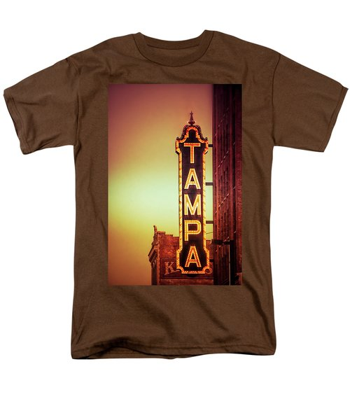 Men's T-Shirt  (Regular Fit) featuring the photograph Tampa Theatre by Carolyn Marshall