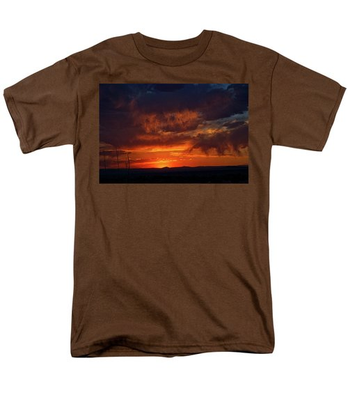 Taos Virga Sunset Men's T-Shirt  (Regular Fit) by Jason Coward
