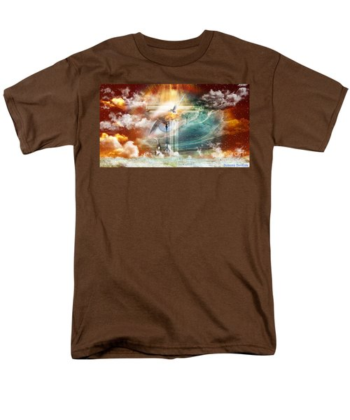 Men's T-Shirt  (Regular Fit) featuring the digital art Tears To Triumph by Dolores Develde