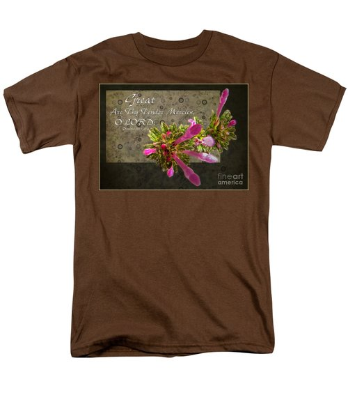 Tender Mercies Men's T-Shirt  (Regular Fit) by Debbie Portwood