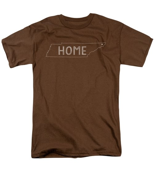 Men's T-Shirt  (Regular Fit) featuring the digital art Tennessee Home by Heather Applegate