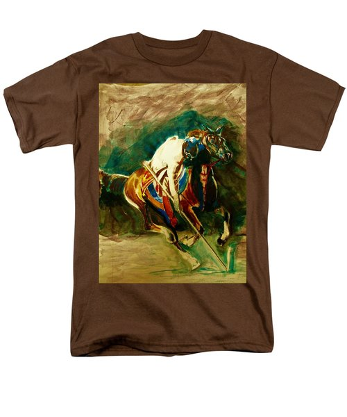 Tent Pegging Sport Men's T-Shirt  (Regular Fit) by Khalid Saeed