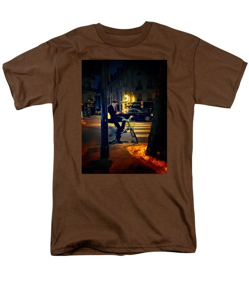 Texting Men's T-Shirt  (Regular Fit) by John Rivera