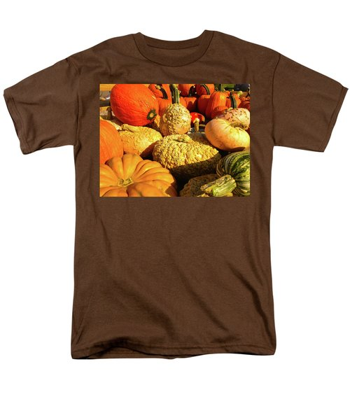 Men's T-Shirt  (Regular Fit) featuring the photograph Textures Of Fall by Rod Seel