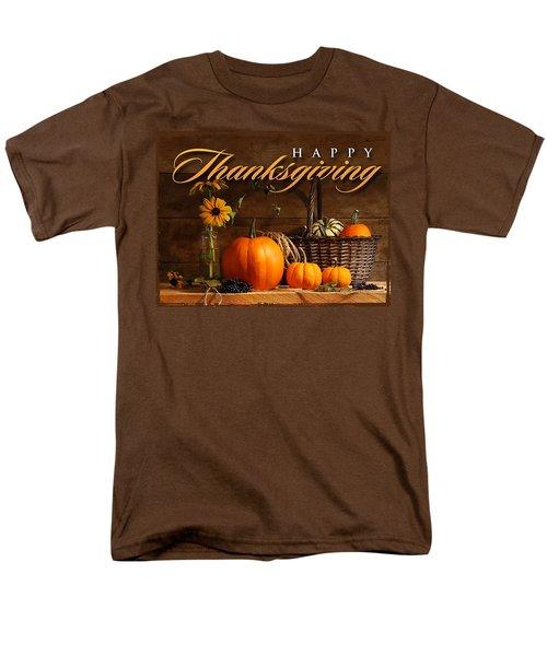 Thanksgiving I Men's T-Shirt  (Regular Fit) by  Newwwman