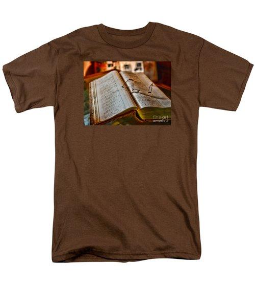 The Accountant's Ledger Men's T-Shirt  (Regular Fit) by Paul Ward