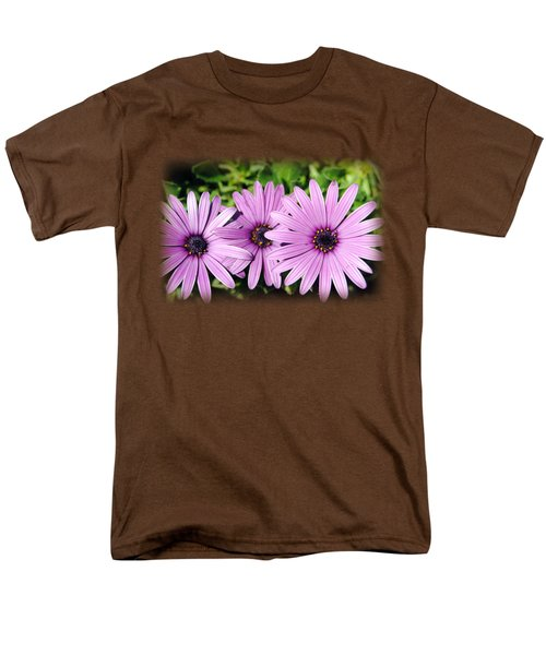 The African Daisy T-shirt 3 Men's T-Shirt  (Regular Fit) by Isam Awad