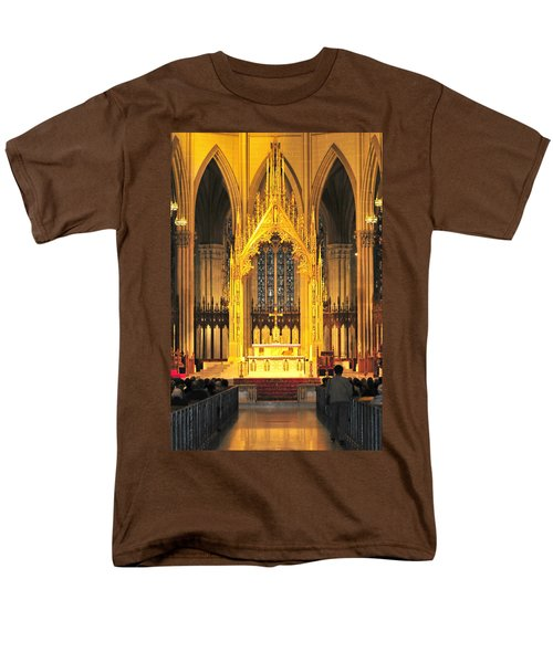 Men's T-Shirt  (Regular Fit) featuring the photograph The Alter by Diana Angstadt