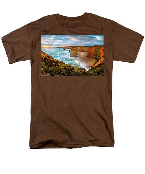 The Apostles Sunset Men's T-Shirt  (Regular Fit) by Az Jackson