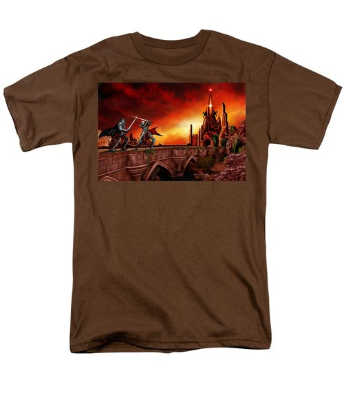 The Battle For The Crystal Castle Men's T-Shirt  (Regular Fit) by James Christopher Hill